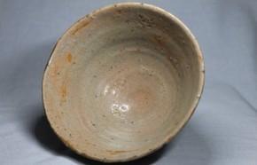 (青)井戸茶碗 (1-1)   李朝時代中期