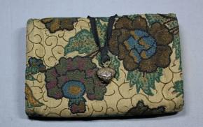 相良刺繍懐紙入・財布  (6)      江戸時代