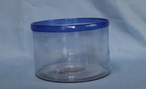 紺縁金魚鉢   大正時代
