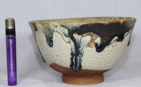 唐津斑釉茶碗(1)   江戸時代