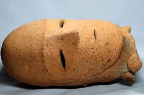人物埴輪頭部  古墳時代 1ー1  本物保証