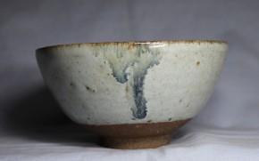 古唐津金石原古窯斑茶碗   江戸時代初期~前期  伝世品