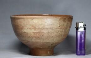 ◎李朝三島手呉器茶碗(1)  伝世品   李朝時代前期