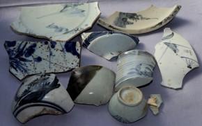 初期伊万里茶碗破片など(26) 9点   江戸時代初期