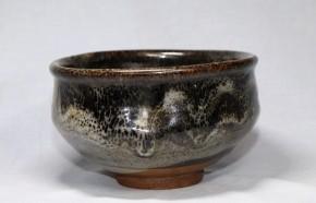 ◎黒唐津沓形茶碗(1)   江戸時代初期~前期  伝世品