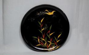 浄法寺芦雁図皿(6) 江戸時代後期