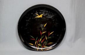 浄法寺芦雁図皿(5) 江戸時代後期