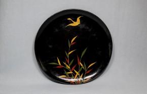 浄法寺芦雁図皿(2) 江戸時代後期