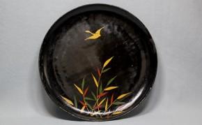 浄法寺芦雁図皿(1) 江戸時代後期