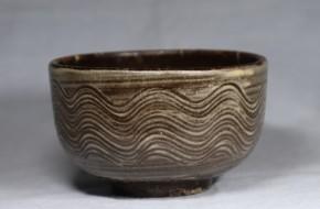古現川焼小服茶碗   江戸時代中期   珍品
