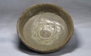 高麗三島手酒盃(3)   高麗末~李朝時代初期  本物保証