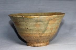 李朝伊羅保茶碗(1)   江戸時代初期(15世紀末~16世紀初頭)
