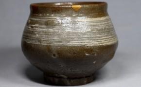 古唐津刷毛目塩笥茶碗(1-1)   江戸時代前期   時代箱