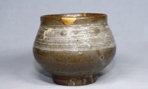 古唐津刷毛目塩笥茶碗(1)   江戸時代前期   時代箱