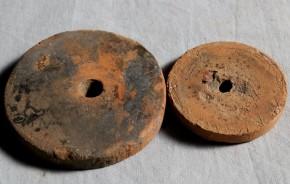 紡錘車形土製品
