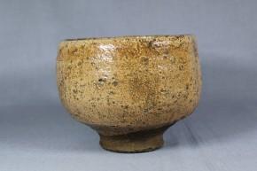 古萩茶碗   江戸時代