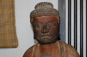 木造阿弥陀如来立像(1-1)    平安時代末~鎌倉時代初頭