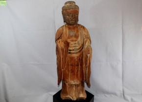 木造阿弥陀如来立像(1)    平安時代末~鎌倉時代初頭