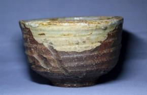 伊賀焼茶碗   明治時代