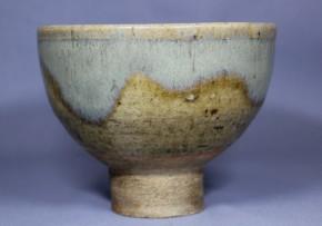古唐津斑茶碗(山瀬古窯) 1   江戸時代初期