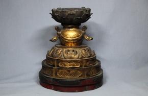 愛染明王の台座(蓮華座)   鎌倉~室町時代