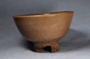 萩焼切高台茶碗   江戸時代中期