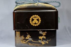 一文字三星紋入り化粧箱(2)   江戸時代中期~後期