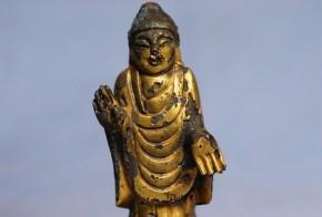 新羅金銅如来小像(1-1)   8~9世紀