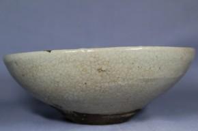 絵唐津平茶碗(1)  桃山時代  伝世品