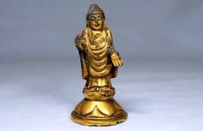 新羅金銅如来小像(1)   8~9世紀