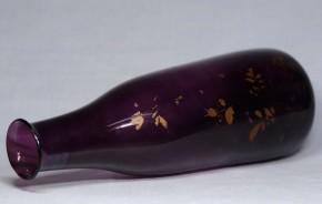 江戸紫徳利.透明徳利(1-1)  2本    18世紀中頃~後半