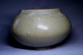 高麗青磁塩笥壺   高麗時代末期