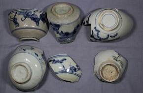 初期伊万里破片(2)   6点   江戸時代初期