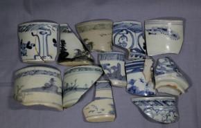 初期伊万里破片(8)   12点   江戸時代初期