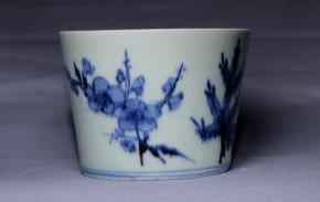 古伊万里蕎麦猪口(213-1)   江戸時代後期    本物保証