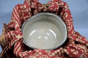 絵唐津沓形茶碗   江戸時代中期~後期
