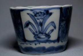 古伊万里蕎麦猪口(169)  江戸時代後期