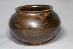 黒高麗塩笥茶碗(2)   李朝時代後期