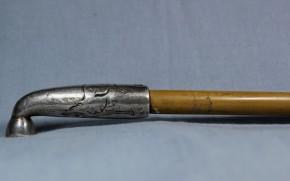 煙管(11)  明治~大正時代  「純銀」の刻印あり