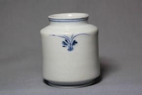 李朝分院染付草文薬瓶(2)   李朝時代後期