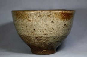 古薩摩焼灰釉茶碗   江戸時代初期~前期