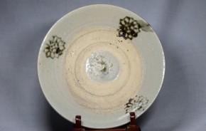 東南アジアの蒟蒻印判皿(2)  17世紀   陶器製