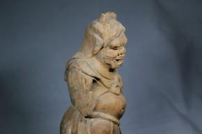 木彫天燈鬼像(1-1)   鎌倉時代
