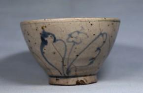 安南陶器染付酒盃   15世紀