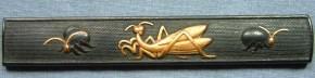 蟷螂・蛍図小柄(3)   江戸時代