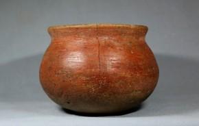 朱塗小形丸底壺形土器   弥生時代~古墳時代