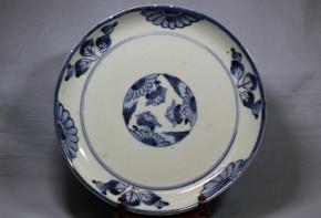 古伊万里くらわんか中皿(4)   江戸時代中期