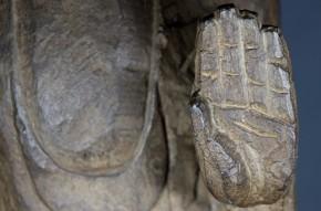 高麗石製如来立像(1-1)  12~13世紀  台座付
