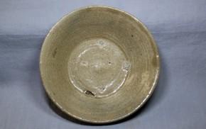 高麗青磁平盃   李朝時代初期