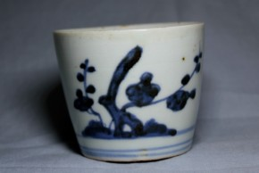古伊万里蕎麦猪口(166)  江戸時代中期(18世紀前半)